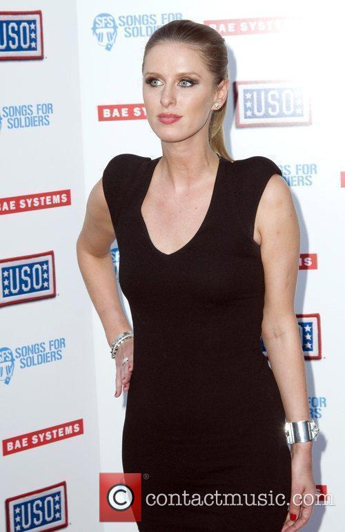 Nicky Hilton at the USO's Swingin Salute to...