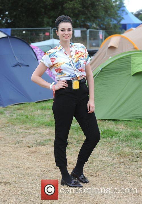 Gizzi Erskine  The V Festival 2010 held...