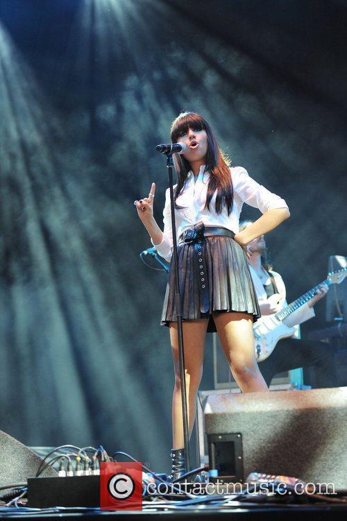 Gabrielle Cilmi The V Festival 2010 held at...