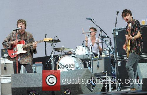 The Kooks The V Festival 2010 held at...