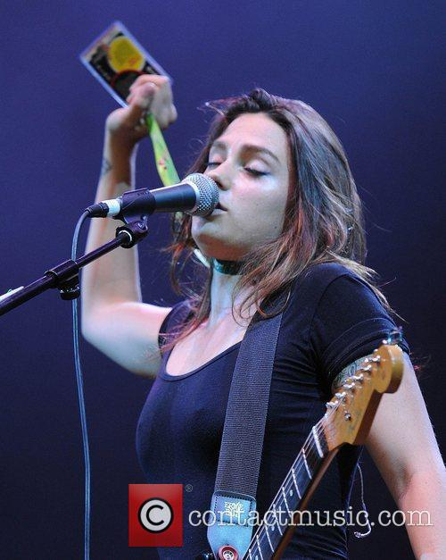 Tiffany Page The V Festival 2010 held at...