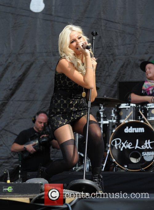 Pixie Lott  The V Festival 2010 held...
