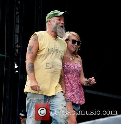 Seasick Steve picked out a young girl from...