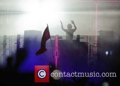 David Guetta The V Festival 2010 held at...