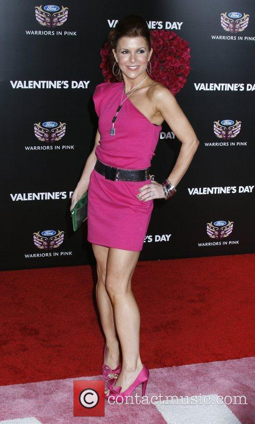 Los Angeles World Premiere of 'Valentine's Day' held...
