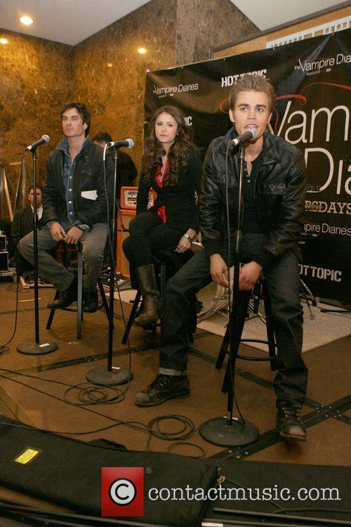 Ian Somerhalder, Nina Dobrev and Paul Wesley 6