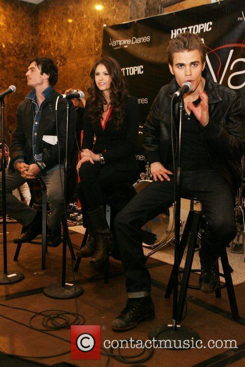 Ian Somerhalder, Nina Dobrev and Paul Wesley 1