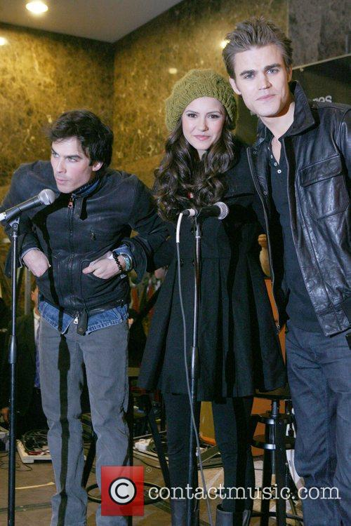 Ian Somerhalder, Nina Dobrev and Paul Wesley 4