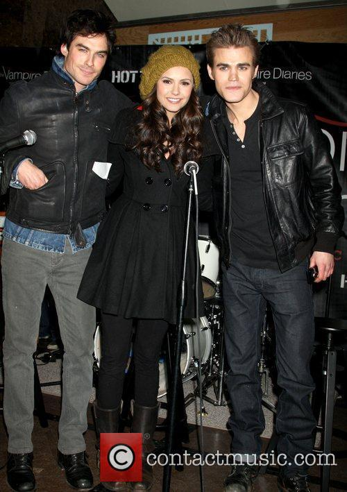 Hot Topic presents the cast of 'Vampire Diaries'...
