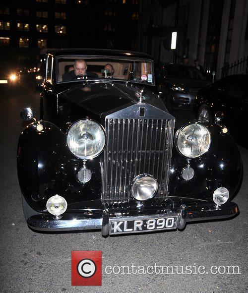 Prince d'Arenberg vintage Rolls Royce at an art...