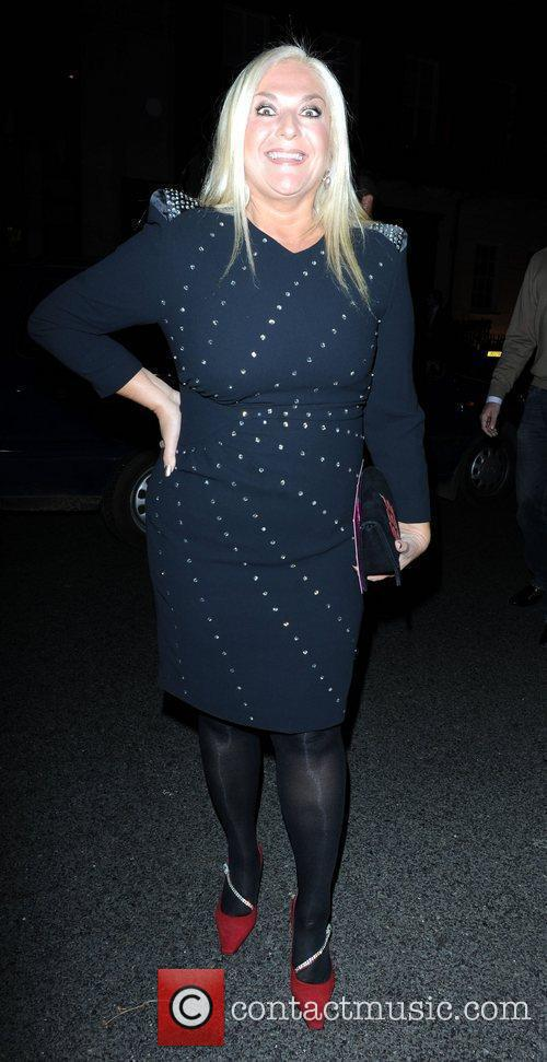 Vanessa Feltz at an art event in Berkeley...