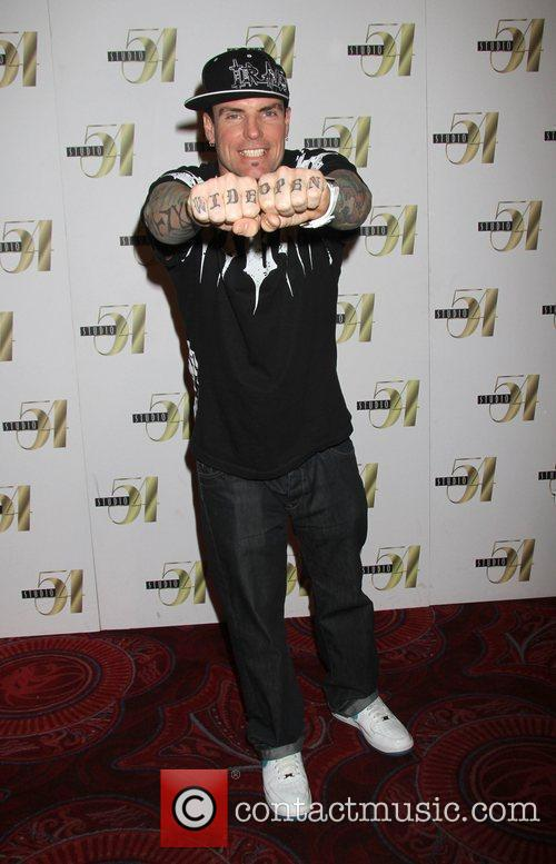 Vanilla Ice celebrates his birthday at Studio 54...