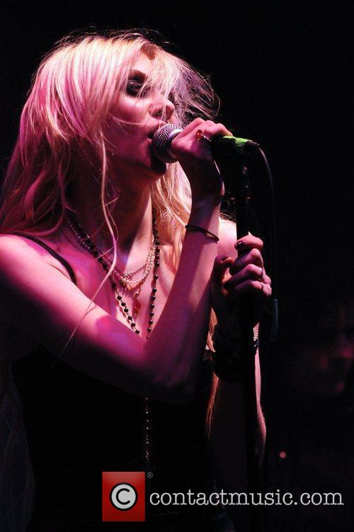 Taylor Momsen and her band The Pretty Reckless...