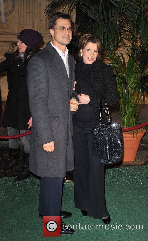 Natasha Kaplinsky and husband Cirque De Soleil -...