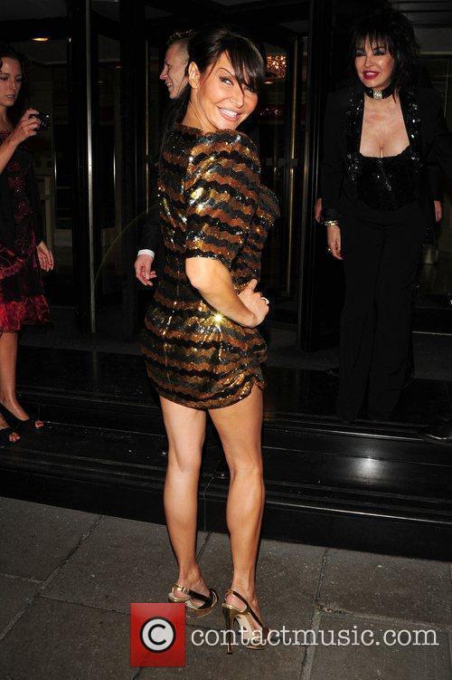 Lizzie Cundy The Variety Club Showbiz Awards 2010...