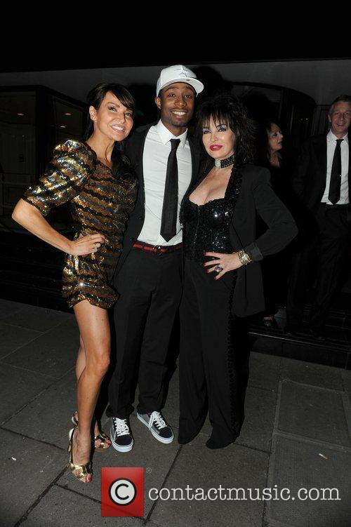 Lizzie Cundy and guests The Variety Club Showbiz...