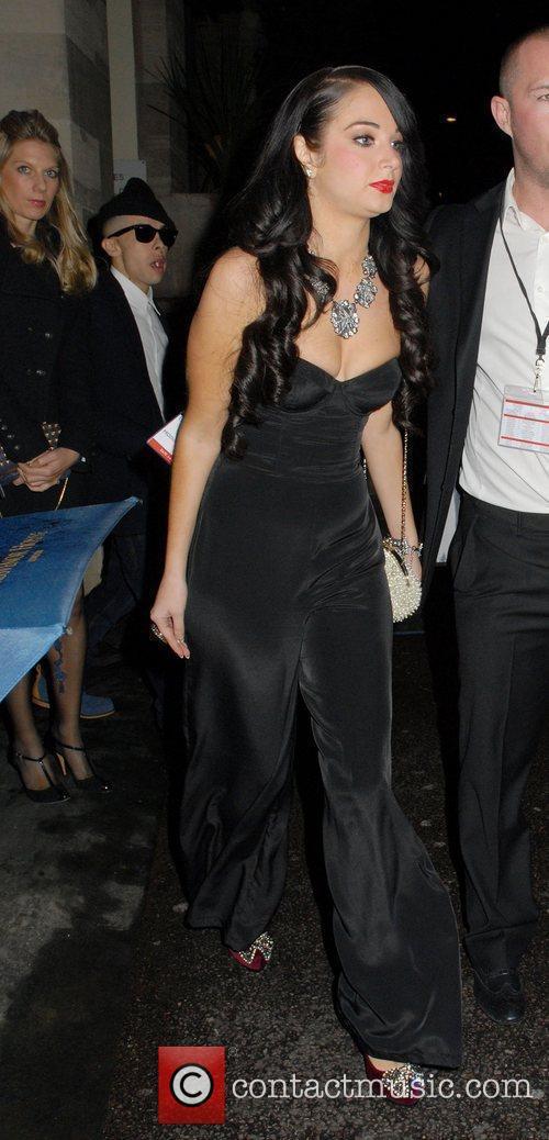 The Variety Club Showbiz Awards 2010 - outside...