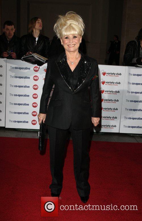 Barbara Windsor The Variety Club Showbiz Awards 2010...