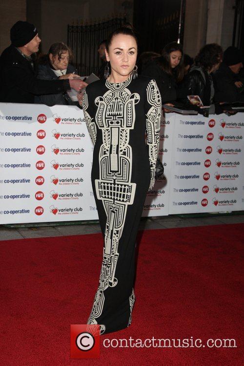 Jaime Winstone The Variety Club Showbiz Awards 2010...