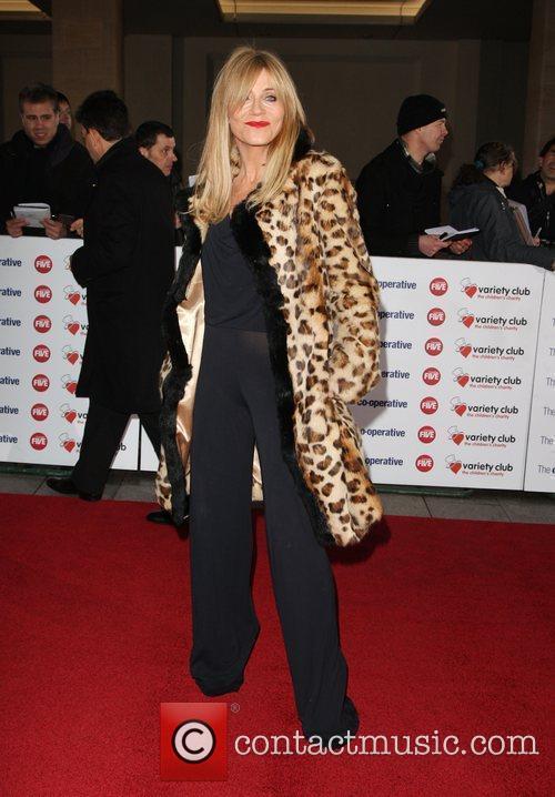 Michelle Collins The Variety Club Showbiz Awards 2010...