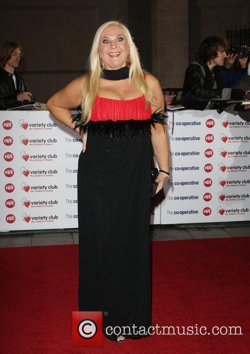 Vanessa Feltz The Variety Club Showbiz Awards 2010...
