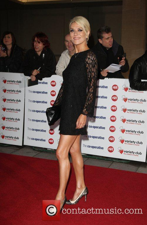 Zoe Lucker The Variety Club Showbiz Awards 2010...