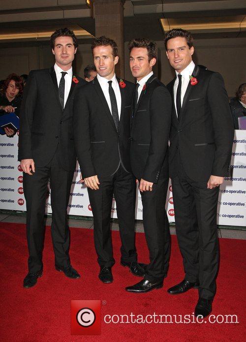 Blake The Variety Club Showbiz Awards 2010 at...