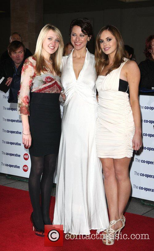 Emily Head, Belinda Stewart-Wilson, Hannah Tointon The Variety...