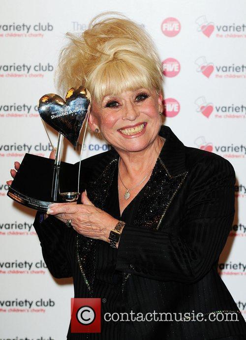The Variety Club Showbiz Awards 2010 at the...