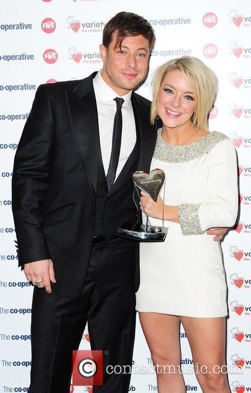 Duncan James and Sheridan Smith The Variety Club...