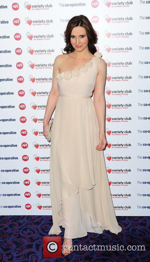 Jayne Middlemiss The Variety Club Showbiz Awards 2010...