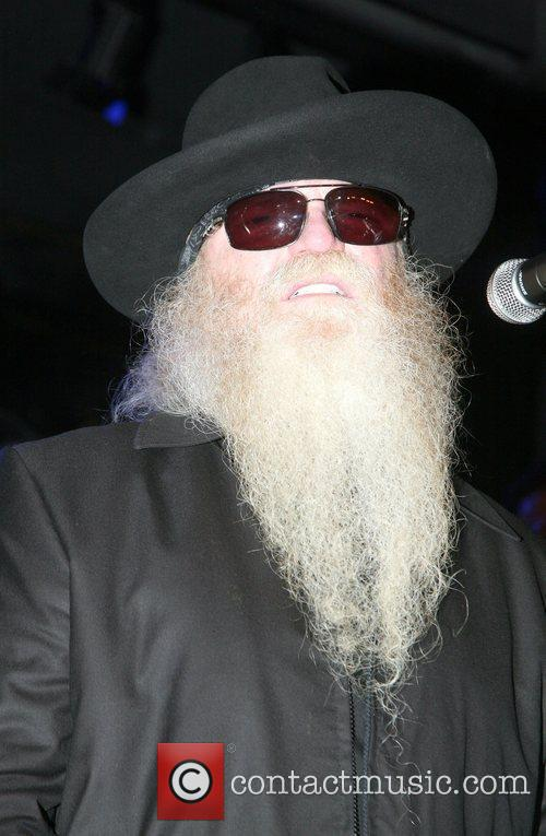 Dusty Hill of the lZZ Top performs on...