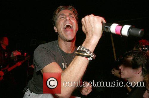 Perry Farrell performs on stage for the John...