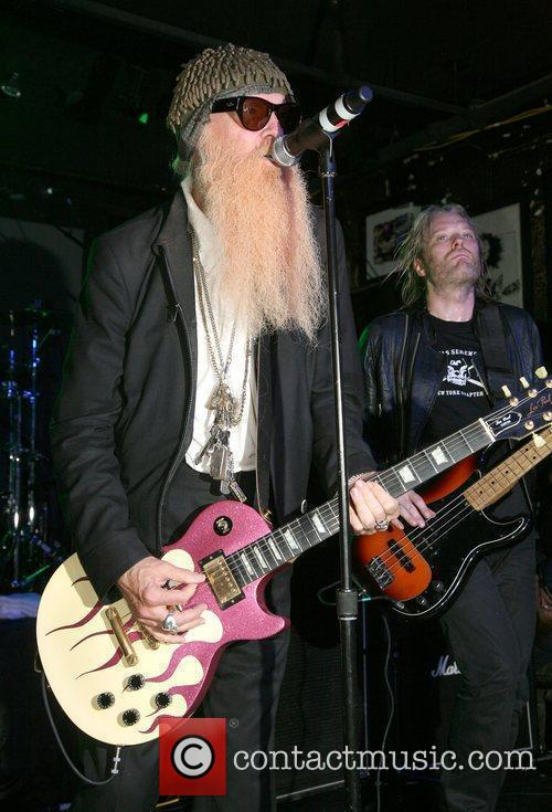 ZZ Top perform on stage for the John...