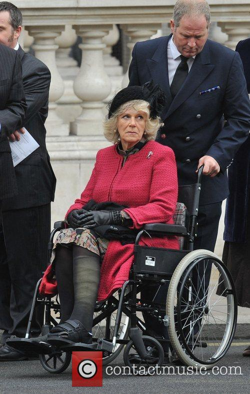 Camilla, Duchess of Cornwall Victory in Europe Day...
