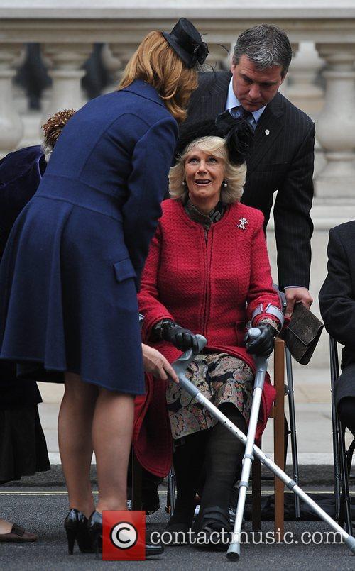 Sarah Brown, Camilla and Duchess Of Cornwall 2