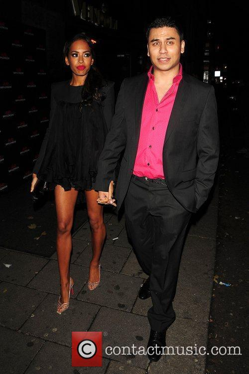 Jade Ewen and Ricky Norwood  The Brylcreem...