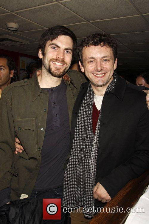 Wes Bentley and Michael Sheen attend the after...