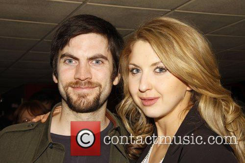 Wes Bentley and Nina Arianda  attend the...