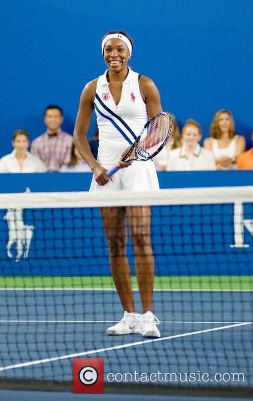 Venus Williams, Clinic and Ralph Lauren 1