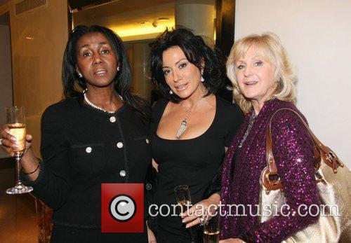 Nancy Dell'Olio, Theresa Roberts and Liz Brewer The...