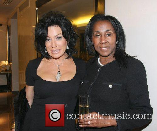 Nancy Dell'Olio and Theresa Roberts The launch of...