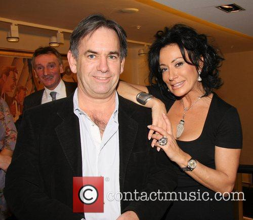 Mark Power and Nancy Dell'Olio The launch of...