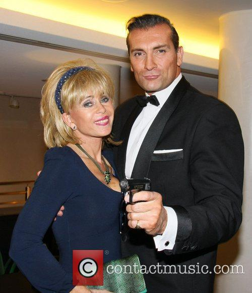 Sally Farmiloe and Donald Standen The launch of...