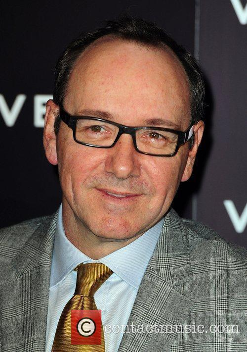 Kevin Spacey  Vertu Luxury Mobile Phone Launch...