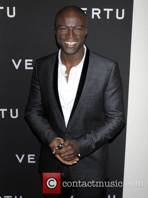 Seal at the launch of Vertu's smartphone at...