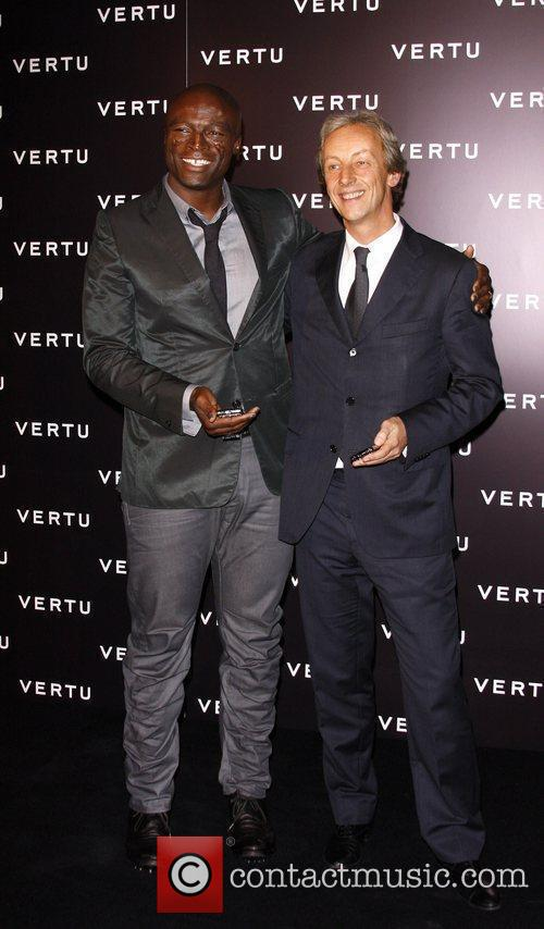 Seal and guest Vertu Luxury Mobile Phone Launch...