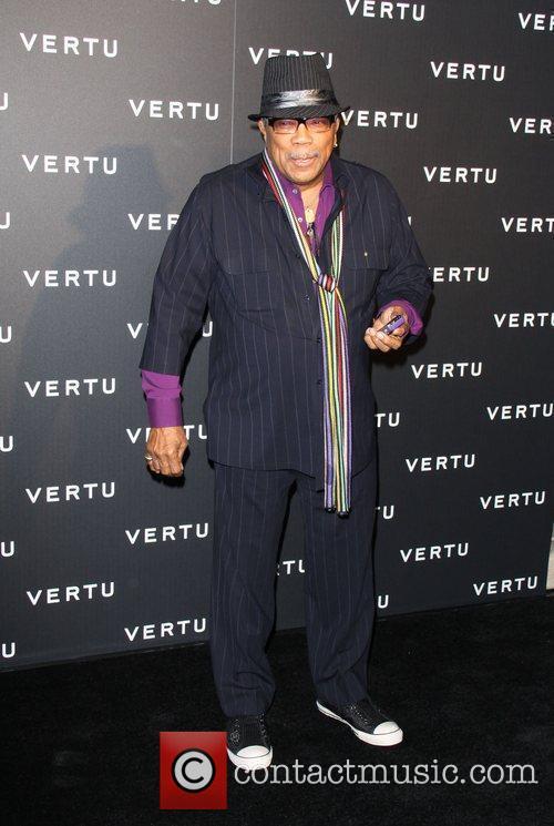 Quincy Jones Vertu's Rodeo Drive Boutique Grand Opening...