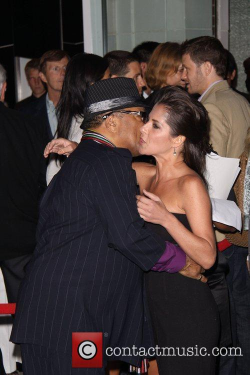 Quincy Jones and Kelly Monaco Vertu's Rodeo Drive...