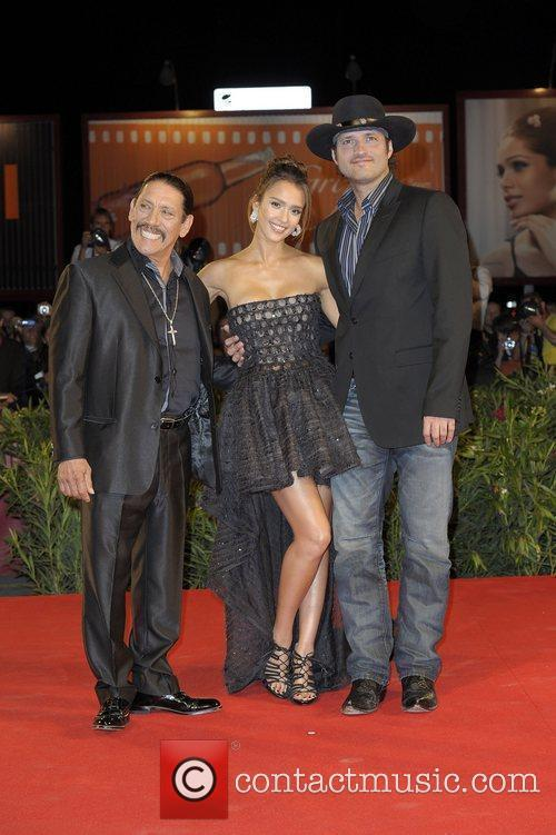 Jessica Alba and Robert Rodriguez 7